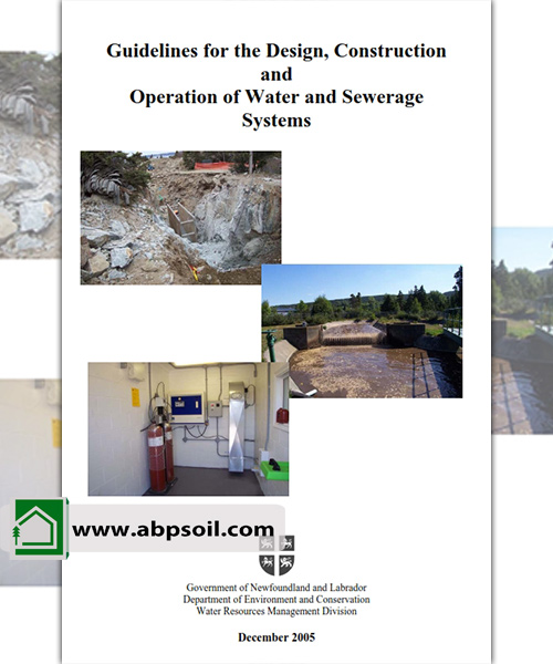 Guidelines for the Design, Construction and Operation of Water and Sewerage Systems